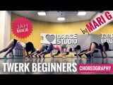 Jah Khalib - Порвано Платье - Twerk Beginners Choreography by MARI G