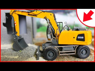 Diggers Cartoons for children about The Excavator Adventures! Construction Trucks Videos for kids