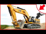 Diggers Cartoons for children - The Excavator - Construction Trucks Video for Kids
