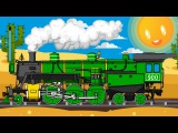 Learn numbers with the Train count from One to Five! Educational cartoon for children