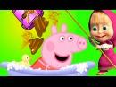 Свинка Пеппа на русском Все серии подряд Мультики для детей Peppa Pig