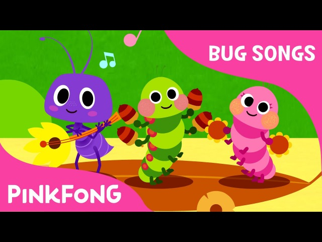 Bugn Roll | Bug Songs | Pinkfong Songs for Children