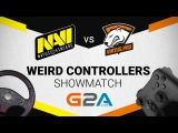 Weird Controllers - CS:GO Showmatch  | Virtus.Pro vs Natus Vincere | G2A Bootcamp 2017