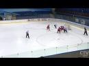 Во Дворце спорта молодёжная сборная по хоккею встретилась с клубом из Могилева
