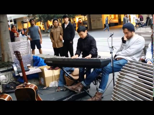 Darby Lee River flows in you (Yurima Piano cover Live @ Melbourne)
