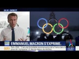 Emmanuel Macron salue l'attribution des J.O. 2024