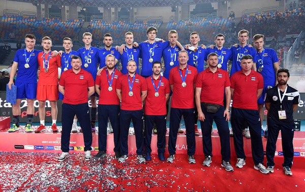 Сборная России U-23 стала второй на молодежном Чемпионате мира