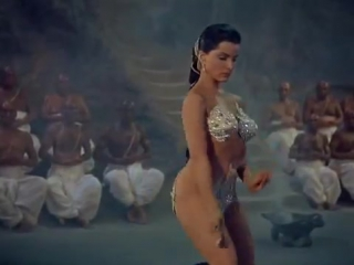Debra Paget in Fritz Lang's epic The Indian Tomb (1959) English Dub 4673