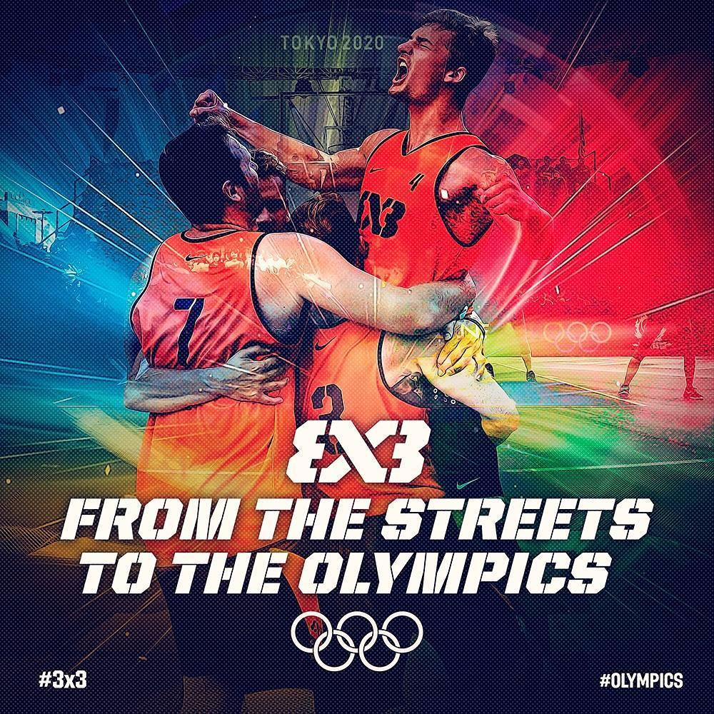 Баскетбол 3х3 включён в программу Олимпийских Игр!