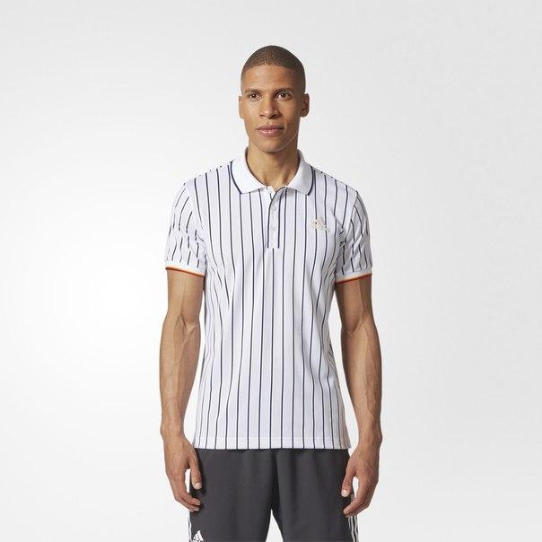 Футболка-поло для тенниса New York Striped