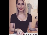Алексей Воробьев - Самая Красивая (cover by OLISHA),красивая девушка классно спела кавер,хорошо поет,поёмвсети,красивый голос