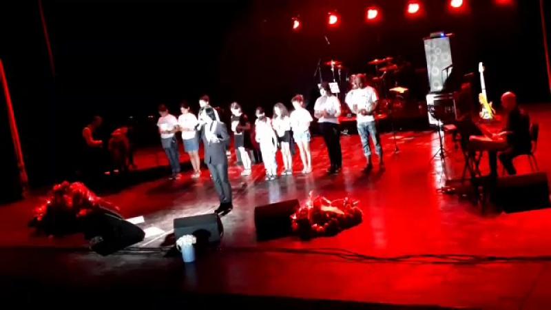 Gela Guralia Herio Bichebo Видео Batumi State Music Centre