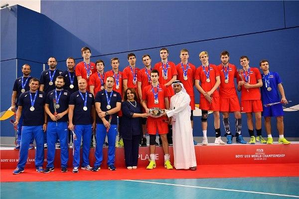 Сборная России U-19 стала второй на юниорском Чемпионате мира