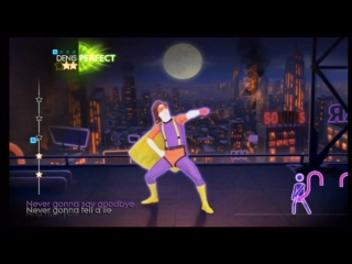 Just Dance 4 Wii - Rick Astley - Never Gonna Give You Up
