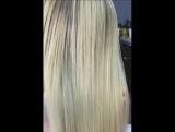 Кератиновое выпрямление и восстановление волос Нины