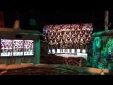 1992год. Хор русской армии поёт на евангелизации Билли Грэма