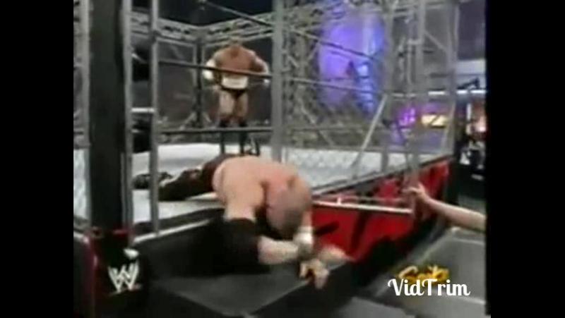 Kane vs Jim Snitsky steel cage match
