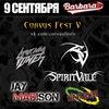 9.09 - Corvus Fest V - Barbara Club
