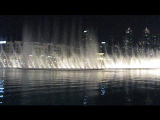 Поющие фонтаны. Дубай. Бурдж-Халифа