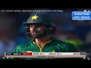 Shoaib Malik 90 (84) vs WI 02/10/16