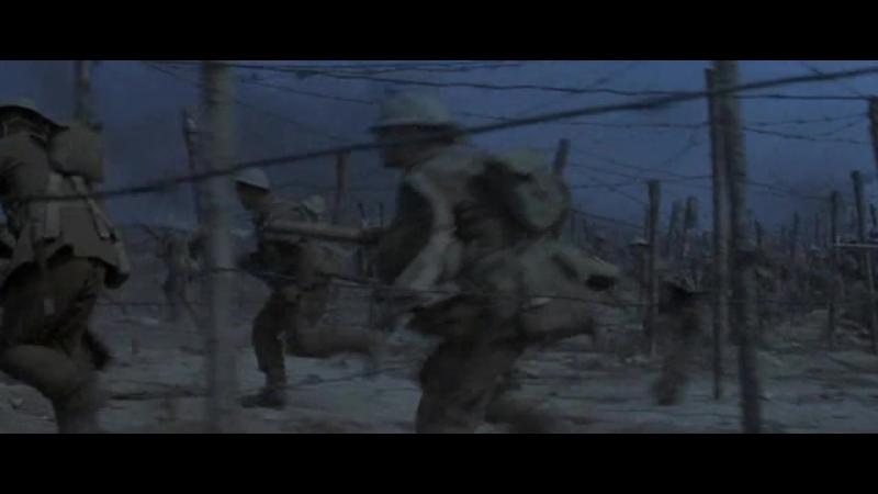 Голубой Макс (1966). Наступление немецких войск при поддержке авиации