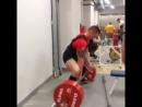 Кшиштоф Вержбицки - тяга 370 кг