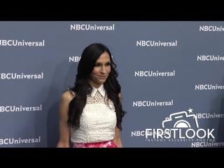 Famke Janssen at The NBCUniversal 2016 Upfront Presentation