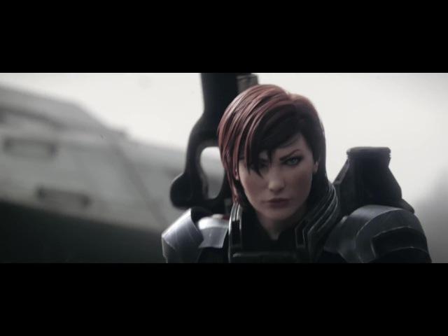 Mass Effect 3 - Take Earth Back - Female Shepard - Cinematic trailer