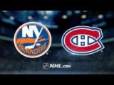New York Islanders vs Montreal Canadiens NHL Game Recap