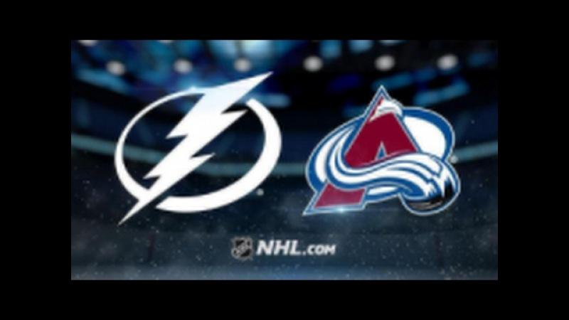 Tampa Bay Lightning vs Colorado Avalanche
