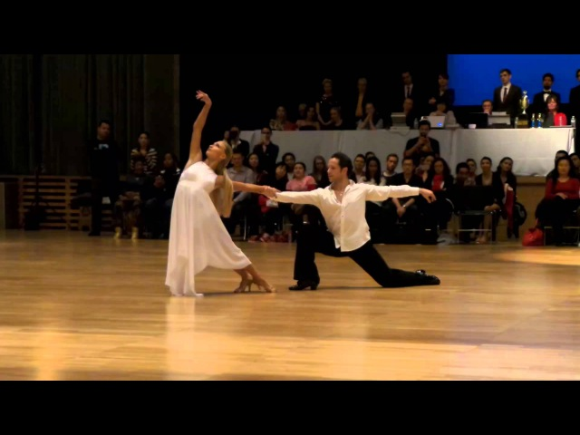 Pasha Pashkov Daniella Karagach rumba show at Columbia University