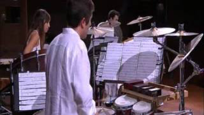 Nebojsa Zivkovic performs his Lamento e danza Barbara for Marimba 3 Percussionists