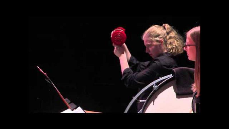Varèse: Ionisation - Boston Conservatory Percussion Ensemble