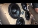 4 Sundown SA12s on 4,000 watts Powered by Northstar