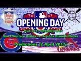 MLB The Show 17 Chicago Cubs vs. St. Louis Cardinals Predictions #MLB2017 (2 April 2017)