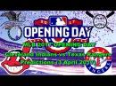 MLB The Show 17 Cleveland Indians vs Texas Rangers Predictions #MLB2017 (3 April 2017)