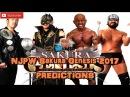 NJPW Sakura Genesis 2017 IWGP Tag Team Championship Taichi Yoshinobu Kanemaru vs. Jado Gedo