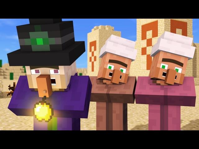 Villager Witch Life 4 - Alien Being Minecraft Animation