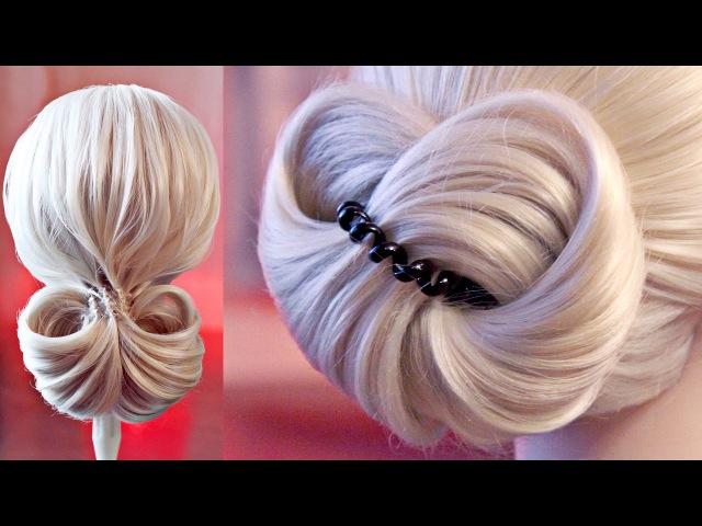 9 пучков | Авторские причёски | Лена Роговая | Hairstyles by REM | Copyright ©