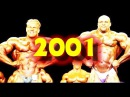 💪2001 Mr Olympia IFBB Pro bodybuilding competition 2001 Mandalay Bay Arena Las Vegas Nevada
