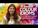 07 Colour Idioms to improve your English Fluency English Lesson Niharika Speak Confidently