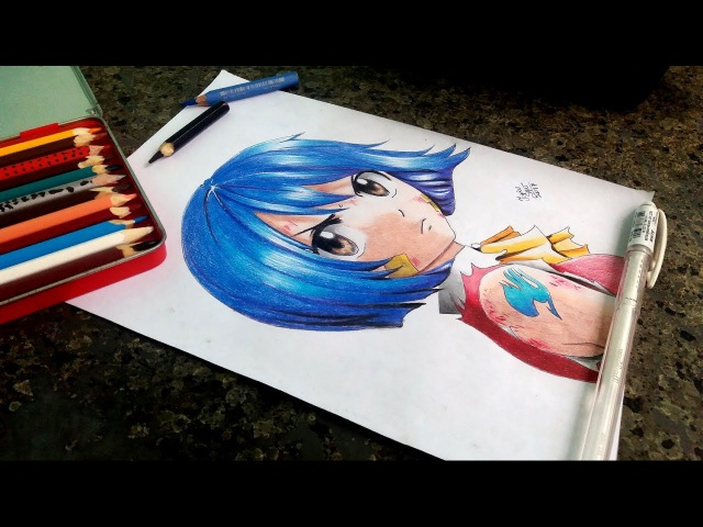 Speed Drawing - Wendy Marvel ( Fairy Tail )
