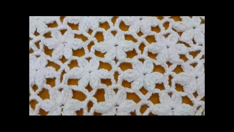 How to Crochet Flowers Stitch / Crochet Patterns 3