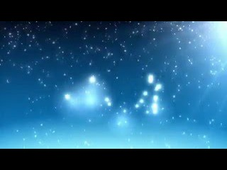 Футаж для видеомонтажа начала фильма: зимняя сказка