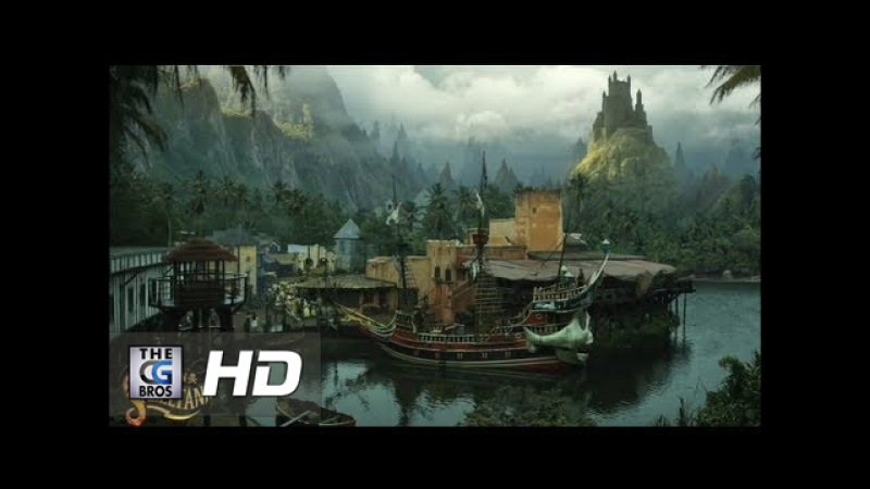 CGI VFX Breakdowns Showreels Matte Painting Set Extension