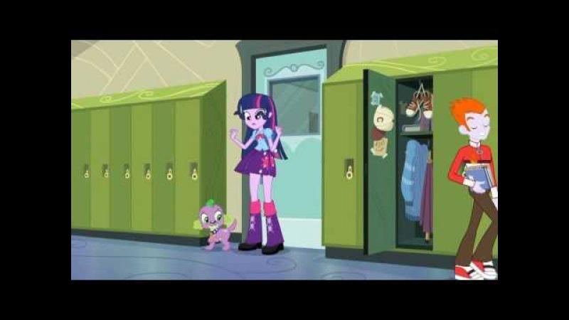My little pony EG поёт Искорка(Twilight Sparkle)-Этот странный мир(rusрус)