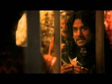 1x03 Jafar &amp the red queen talk to Cyrus about getting Alice to make her first wish