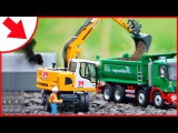 Diggers Cartoons | The Excavator for kids | Construction Trucks Video for children
