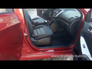 Авточехлы на сидения для Hyundai Solaris, седан, 2011- н.в.