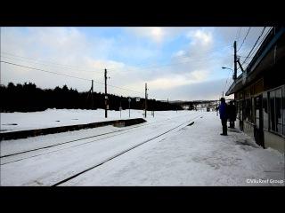 【HD】秘境駅シリーズ01 抜海駅(冬)/北の最果ての駅